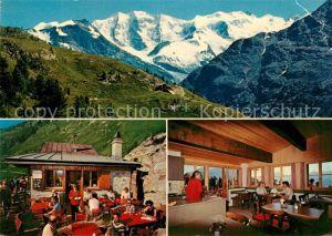 AK / Ansichtskarte Pontresina Restaurant Alp Languard Pontresina