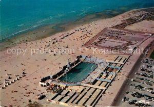 AK / Ansichtskarte Le_Touquet Paris Plage La piscine La plage Fliegeraufnahme Le_Touquet Paris Plage