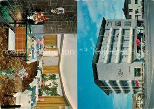 AK / Ansichtskarte Kreuzlingen_Bodensee Hotel Plaza Gastraum Kreuzlingen Bodensee