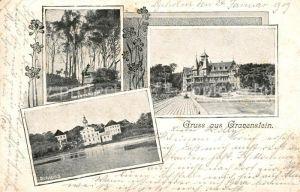 AK / Ansichtskarte Gravenstein Schloss Kurhaus Kerzenhuegel Gravenstein