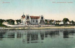 AK / Ansichtskarte Bornholm Hotel Strandschloss Sandvig Bornholm