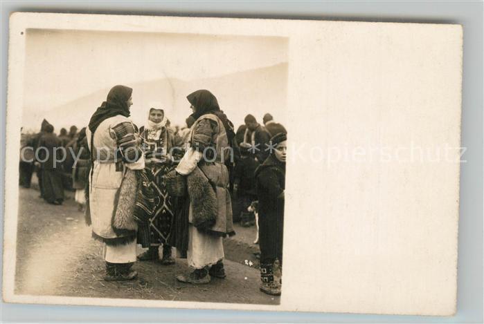 AK / Ansichtskarte Mazedonien Trachtengruppe Mazedonien
