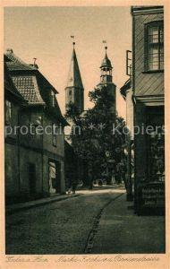 AK / Ansichtskarte Goslar Marktkirche Breitenstrasse Goslar