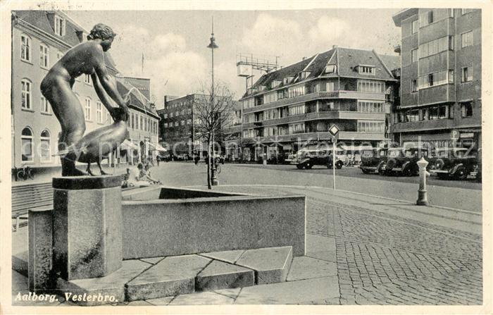 AK / Ansichtskarte Aalborg Vesterbro Aalborg