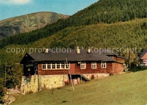 AK / Ansichtskarte Pec_pod_Snezkou Stanice lanovky Drahtseilbahnstation Pec_pod_Snezkou