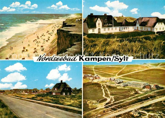 Karte Von Sylt.Plz Kampen Sylt Mit Karte Postleitzahlen 25999 Schleswig Holstein