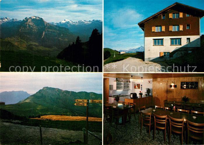 AK / Ansichtskarte Wiesenberg Berggasthaus Gummenalp Fernsicht Alpenpanorama Wiesenberg