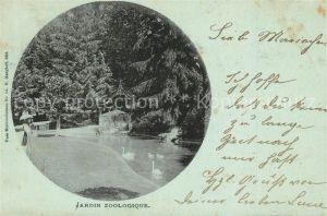 AK / Ansichtskarte Neudorf_Elsass_Village Neuf Jardin Zoologique