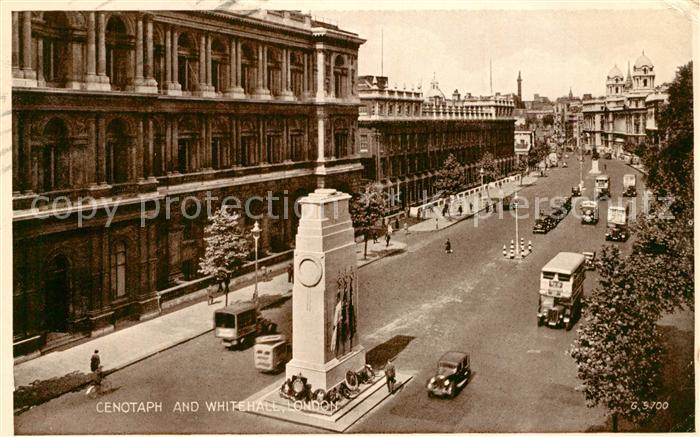 AK / Ansichtskarte London Cenotaph Whitehall London