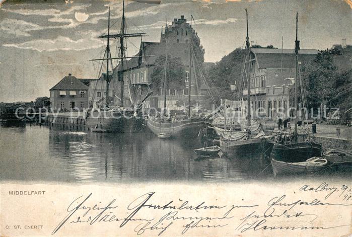 AK / Ansichtskarte Middelfart Hafen Middelfart