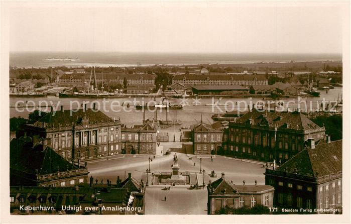 AK / Ansichtskarte Kobenhavn Amalienborg Kobenhavn