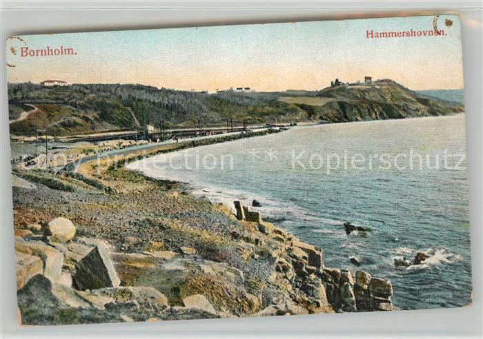 AK / Ansichtskarte Bornholm Hammrshovnen Bornholm