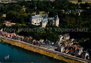 AK / Ansichtskarte Chaumont sur Loire Chateau vue aerienne Collection Les Chateaux de la Loire Chaumont sur Loire