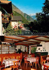AK / Ansichtskarte Vellau Gasthof Kienegg Gaststube Alpen Vellau