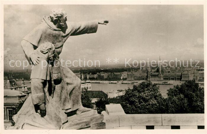 AK / Ansichtskarte Budapest Denkmal Julianus Budapest