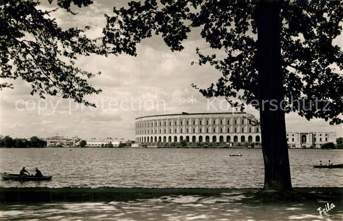 AK / Ansichtskarte Nuernberg Dutzendteich Kongressbau Nuernberg