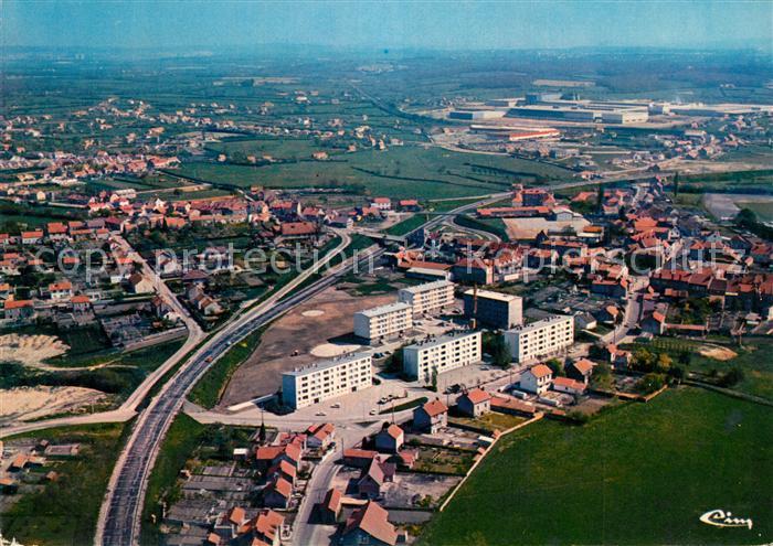 AK / Ansichtskarte Blanzy_les_Mines_Saone_et_Loire Vue generale aerienne Blanzy_les