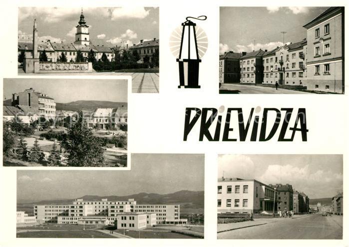 AK / Ansichtskarte Prievidza_Tschechien Orts und Teilansichten