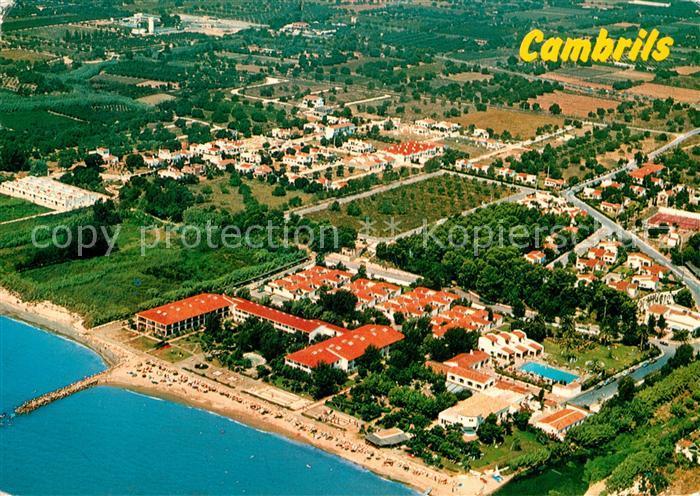 AK / Ansichtskarte Cambrils Eldorado Playa Fliegeraufnahme Cambrils
