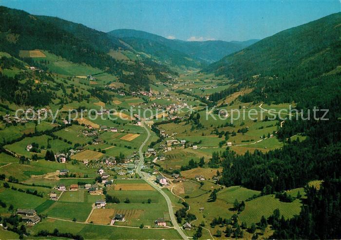 AK / Ansichtskarte Bad_Kleinkirchheim_Kaernten Fliegeraufnahme Bad_Kleinkirchheim