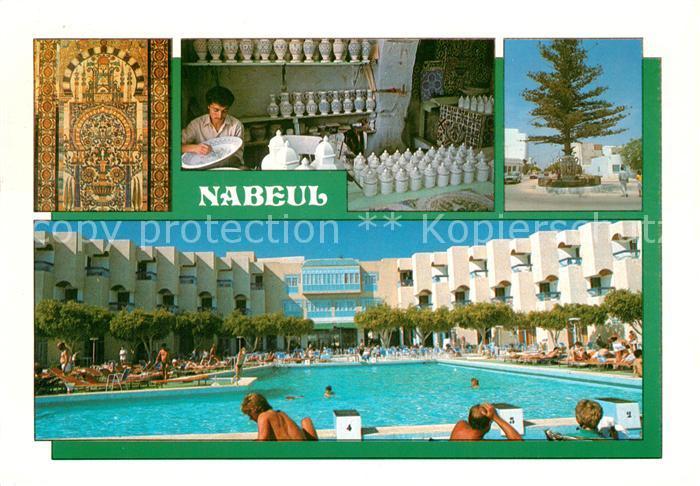 AK / Ansichtskarte Nabeul Hotel des Pyramides Pool Nabeul