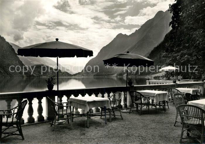 AK / Ansichtskarte Poschiavo Albergo Le Prese Lago Poschiavo