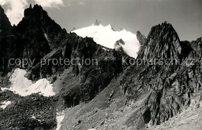 AK / Ansichtskarte Aiguille_du_Tour Bergpanorama Aiguille_du_Tour