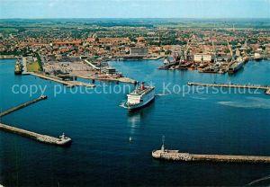 AK / Ansichtskarte Frederikshavn Fliegeraufnahme Frederikshavn