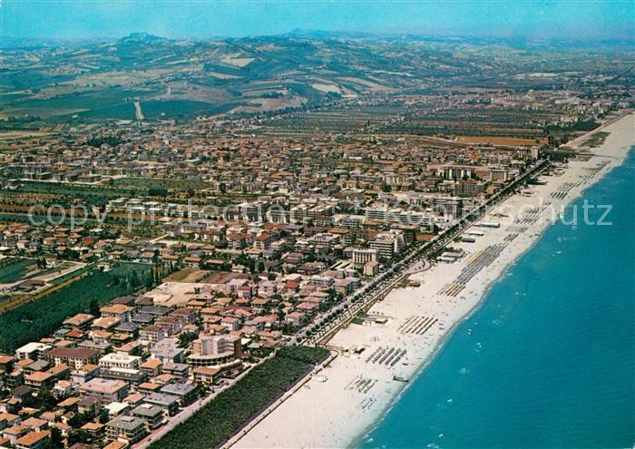 AK / Ansichtskarte Alba_Adriatica Fliegeraufnahme Alba Adriatica