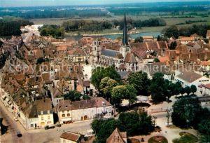 AK / Ansichtskarte Auxonne Vue aerienne sur le centre Auxonne