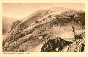 AK / Ansichtskarte Hohneck Montagnes dans les Vosges Hohneck