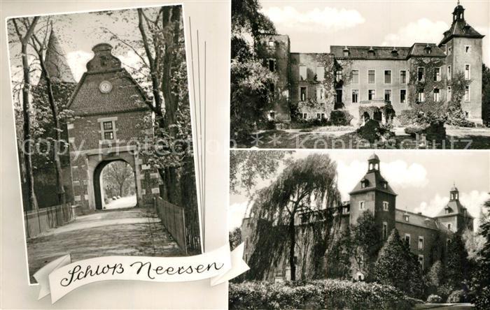 AK / Ansichtskarte Willich Schloss Neersen Willich