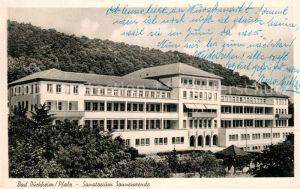 AK / Ansichtskarte Bad_Duerkheim Sanatorium Sonnenwende Bad_Duerkheim