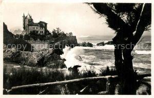 AK / Ansichtskarte Biarritz_Pyrenees_Atlantiques Villa Belza Biarritz_Pyrenees
