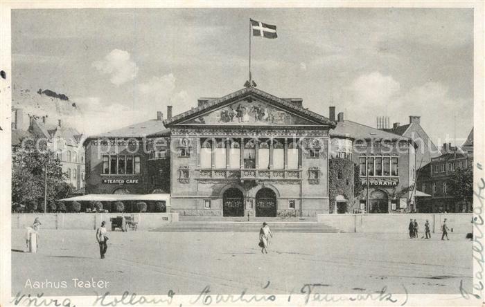 AK / Ansichtskarte Aarhus Theater Aarhus