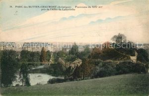 AK / Ansichtskarte Buttes Parc Panorama Allee du Labyrinthe Buttes