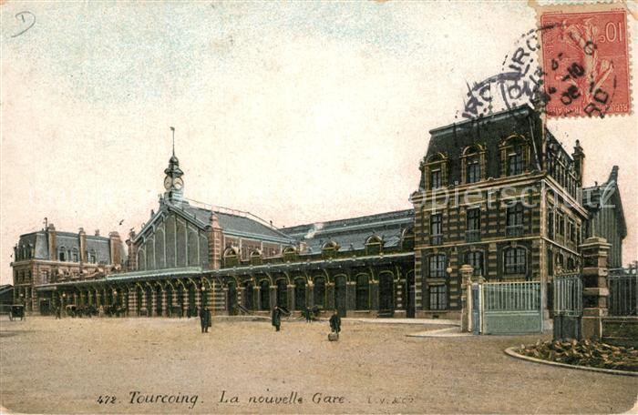 AK / Ansichtskarte Tourcoing_Nord La nouvelle Gare Tourcoing Nord