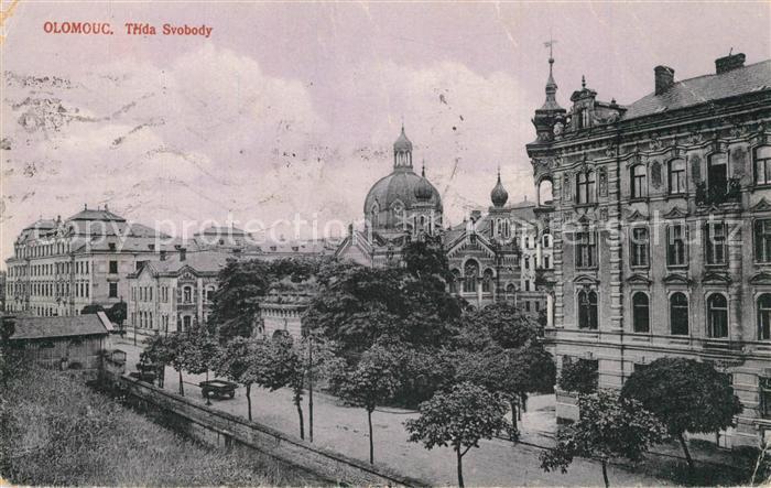 AK / Ansichtskarte Olomouc Trida Svobody Olomouc