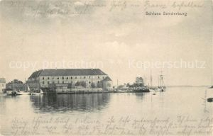 AK / Ansichtskarte Sonderburg Schloss Sonderburg