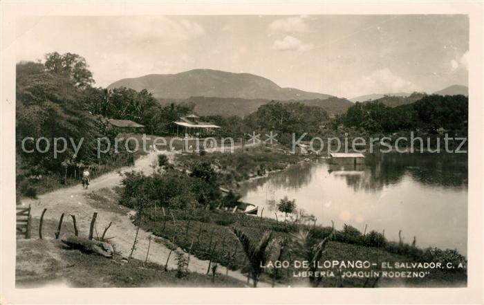 AK / Ansichtskarte El_Salvador Lago de Lopango El_Salvador