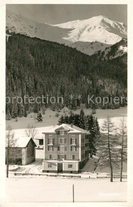AK / Ansichtskarte Churwalden  Churwalden