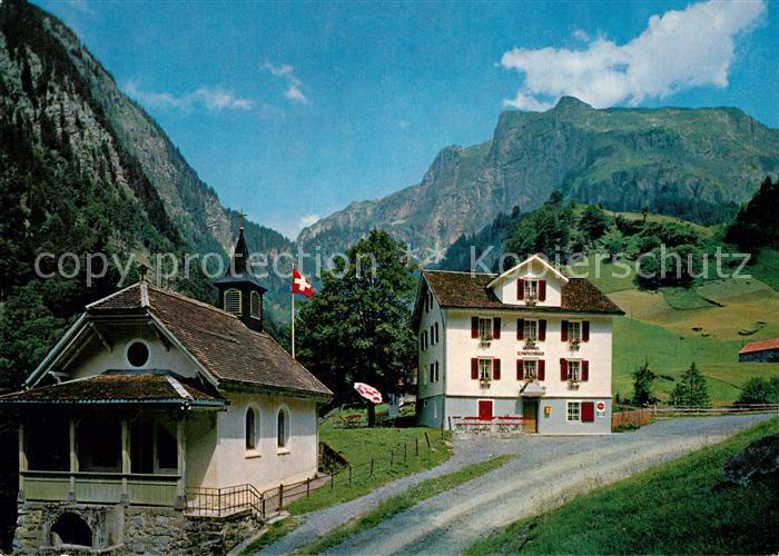 AK / Ansichtskarte Bisisthal Gasthaus Schwarzenbach Bisisthal