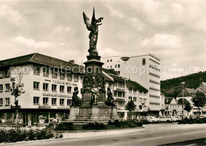 AK / Ansichtskarte Freiburg_Breisgau Siegesdenkmal am Friedrichsring Freiburg Breisgau