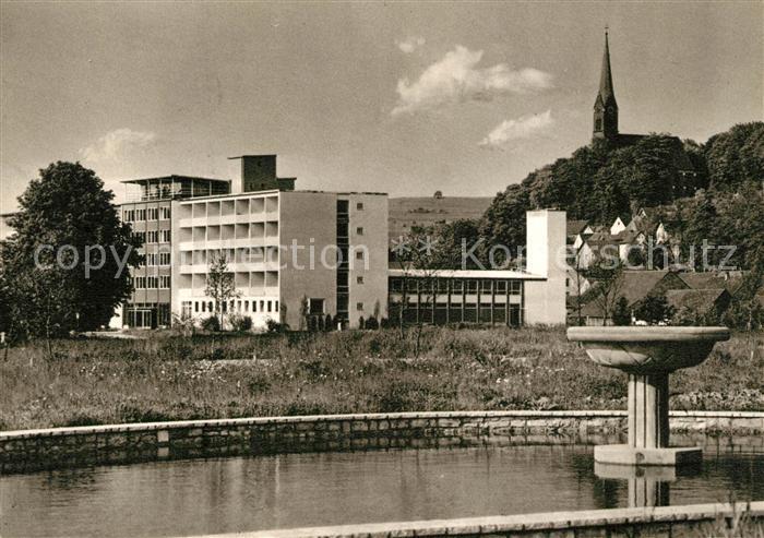 AK / Ansichtskarte Bad_Abbach Rheumakrankenhaus Schwefelbad Kupfertiefdruck Bad_Abbach