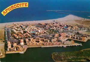 AK / Ansichtskarte Port_Leucate Aphrodite Village vue aerienne Port_Leucate