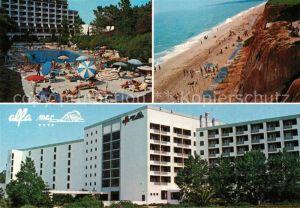 AK / Ansichtskarte Albufeira Hotel alfa mar Piscina Playa Albufeira