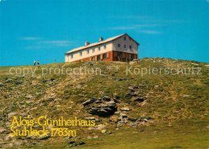 AK / Ansichtskarte Alois Guenther Haus Stuhleck Alois Guenther Haus