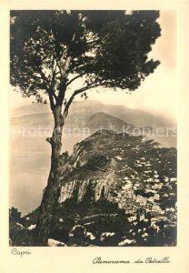 AK / Ansichtskarte Capri Panorama da Cetrella Capri