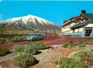 AK / Ansichtskarte Tenerife Parador de las Canadas y El Teide Volcano Vulkan Teide Tenerife