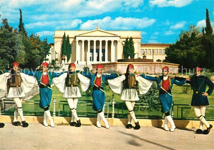 AK / Ansichtskarte Athenes_Athen Volkstrachten Athenes Athen